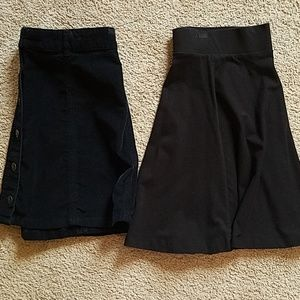 Bundle of midi skirts